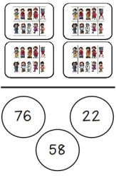 Ten Frames for Matching Numbers