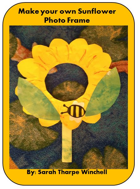 Guest blog post from Sarah at Teaching Resources for the Classroom who shares how to Make Your Own Sunflower Photo Frame.