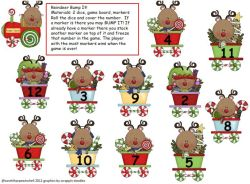 Reindeer Bump It Math Game